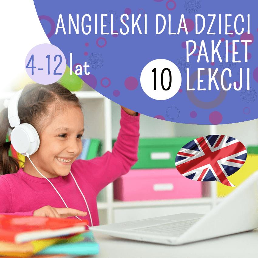 Angielski online dla dzieci (indywidualnie)