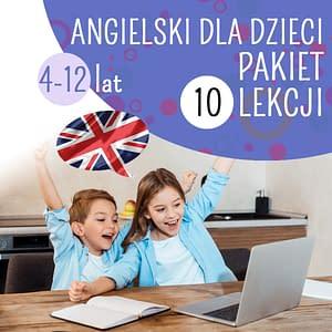 angielski dla dzieci online kursy językowe